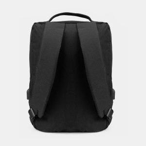 Солидный черный рюкзак из пвх ATS-3287 212956