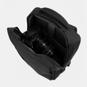 Солидный черный рюкзак из пвх ATS-3287 212957
