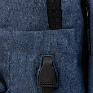 Удобный синий рюкзак из пвх ATS-3288 212952