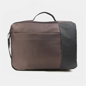 Деловой коричневый рюкзак из пвх ATS-3289 212943