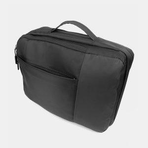 Вместительный черный рюкзак из пвх ATS-3290 212934