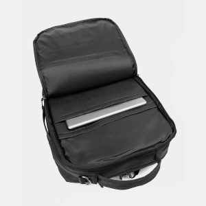 Вместительный черный рюкзак из пвх ATS-3290 212937