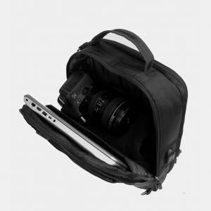 Вместительный черный рюкзак из пвх ATS-3290 212938