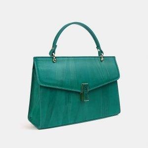 Деловой зеленый женский клатч ATS-3556 212080