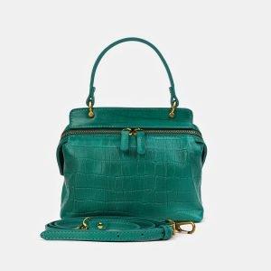 Удобный зеленый женский клатч ATS-3558