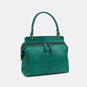 Удобный зеленый женский клатч ATS-3558 212070