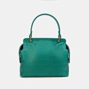 Удобный зеленый женский клатч ATS-3558 212071
