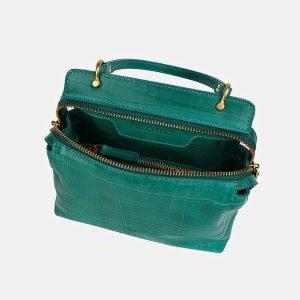 Удобный зеленый женский клатч ATS-3558 212072