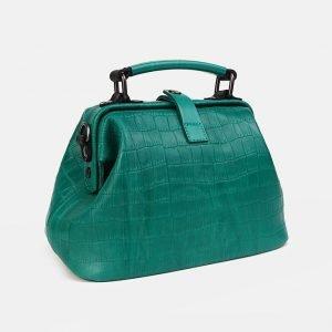 Деловая зеленая женская сумка ATS-3554 212085