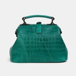 Деловая зеленая женская сумка ATS-3554 212086