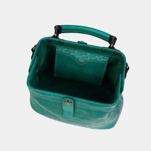 Деловая зеленая женская сумка ATS-3554 212087