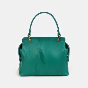 Стильный зеленый женский клатч ATS-3557