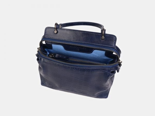 Деловой синий женский клатч ATS-3560