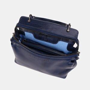 Уникальный синий женский клатч ATS-3559 212067