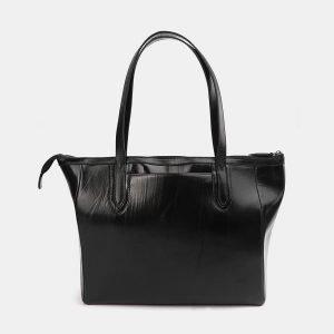 Модная черная сумка с росписью ATS-3712 211502