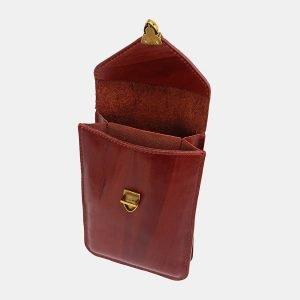 Стильный светло-коричневый женский клатч ATS-3726 211453