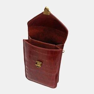 Функциональный светло-коричневый женский клатч ATS-3727 211448