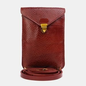 Деловой светло-коричневый женский клатч ATS-3725