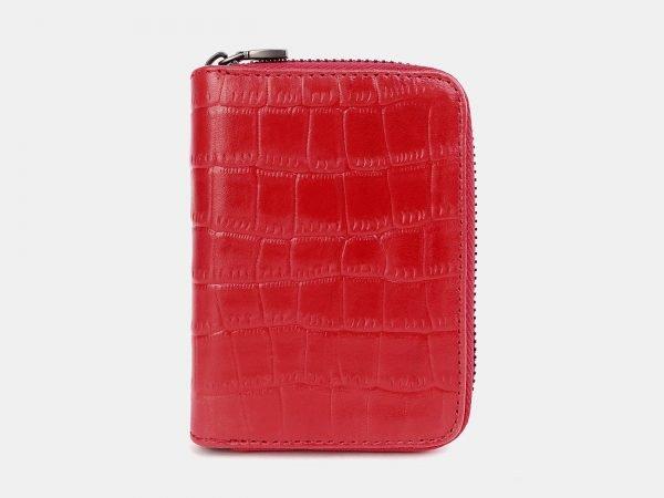Модная красная визитница ATS-3739