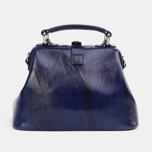 Удобная синяя сумка с росписью ATS-3740 211393