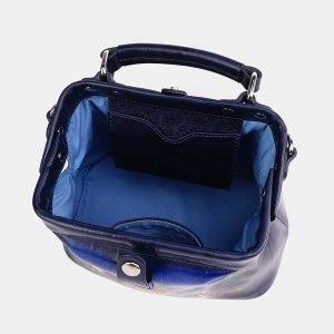 Удобная синяя сумка с росписью ATS-3740 211394