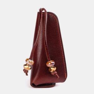 Модная светло-коричневая ключница ATS-3714