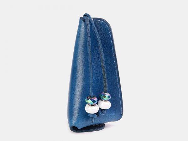 Уникальная голубовато-синяя ключница ATS-3717