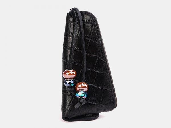 Модная черная ключница ATS-3731