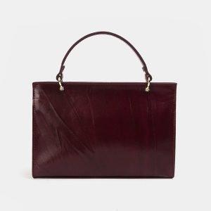 Стильный бордовый женский клатч ATS-3562 212056