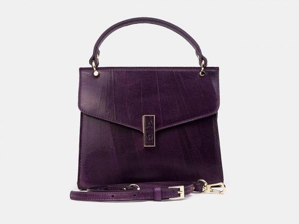 Уникальный фиолетовый женский клатч ATS-3332