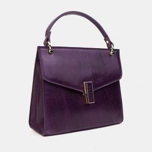 Уникальный фиолетовый женский клатч ATS-3332 212829