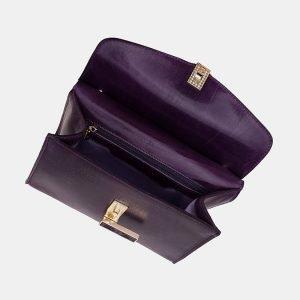 Уникальный фиолетовый женский клатч ATS-3332 212831