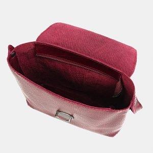 Неповторимый бордовый женский клатч ATS-3748