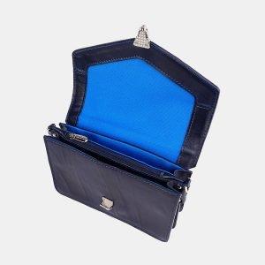 Удобная синяя женская сумка на пояс ATS-3755 211344