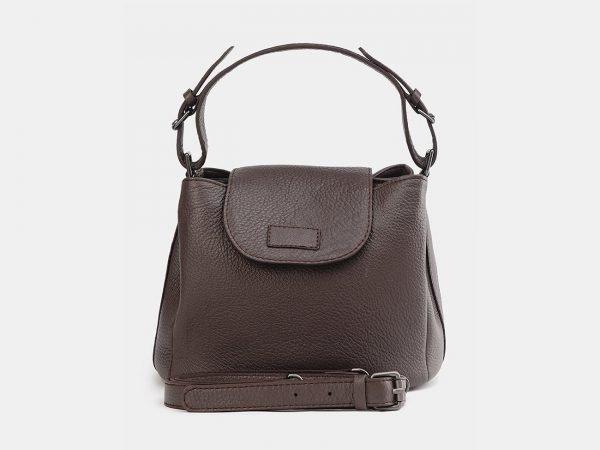 Стильная коричневая женская сумка ATS-3742