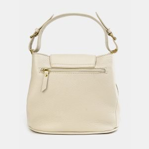 Удобная бежевая женская сумка ATS-3744 211378