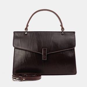 Неповторимый коричневый женский клатч ATS-3849