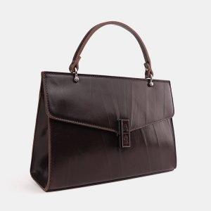 Солидный коричневый женский клатч ATS-3849 210896