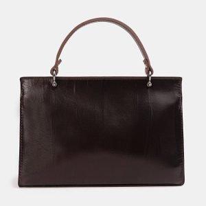 Солидный коричневый женский клатч ATS-3849 210898