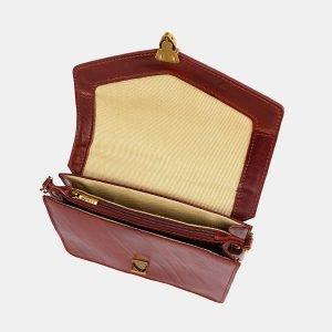 Стильная светло-коричневая женская сумка на пояс ATS-3776 211269