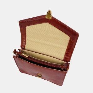Деловая светло-коричневая женская сумка на пояс ATS-3777 211264