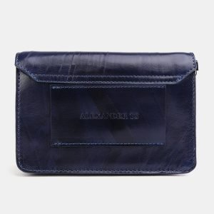 Удобная синяя женская сумка на пояс ATS-3778 211258