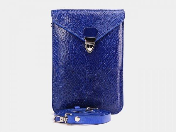 Неповторимый голубовато-синий женский клатч ATS-3790