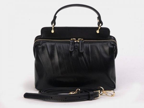 Стильный черный женский клатч ATS-3301