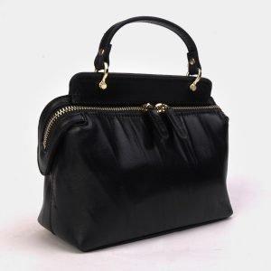 Стильный черный женский клатч ATS-3301 212917