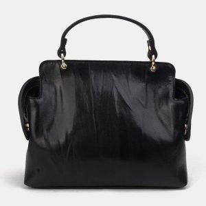 Стильный черный женский клатч ATS-3301 212918