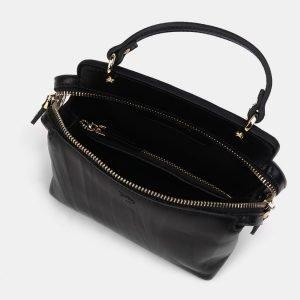 Стильный черный женский клатч ATS-3301 212919