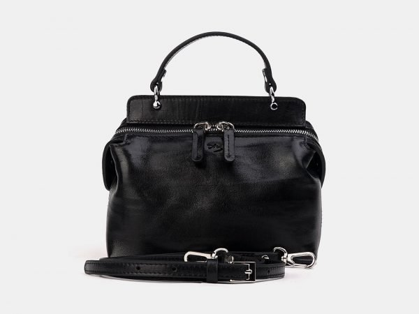 Солидный черный женский клатч ATS-3331