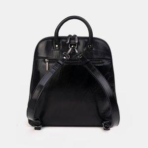 Модный черный рюкзак с росписью ATS-3336 212816