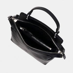 Солидный черный женский клатч ATS-3331 212836